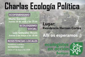 Charla sobre Ecologismo Social