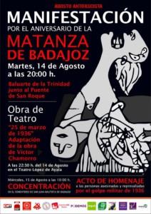 Agosto Antifascista Badajoz