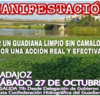 Manifestación: Acción Real y Efectiva en el Guadiana