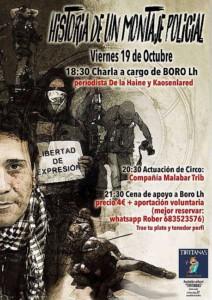 Historia de un Montaje Policial @ Jarandilla de la Vera (Caceres)