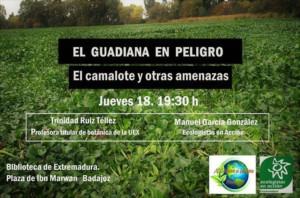 """Charla """"El Guadiana en peligro"""" @ Biblioteca de Extremadura"""