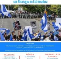 Caravana de Solidaridad Internacional con Nicaragua (encuentros en Extremadura)