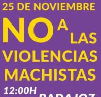 """25-N Manifestación - """"No a las Violencias Machistas"""""""
