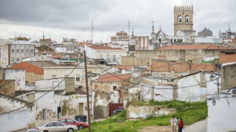Barrio del campillo, sitiado en el casco viejo de Badajoz
