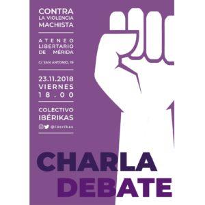 Charla - Debate: Contra la violencia machista @ Ateneo Libertario de Merida