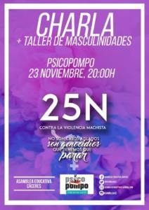 Charla + Taller de masculinidades @ Psicopompo LIBRERÍA - Café