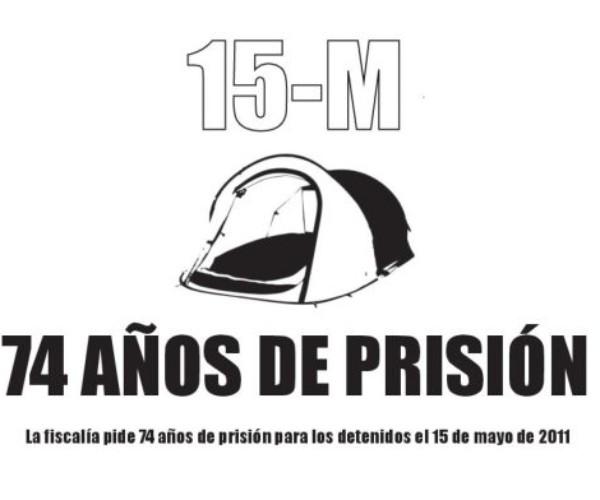 Manifiesto de apoyo a los 14 del 15M