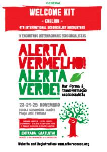 IV Encuentro Ecosocialista Internacional @ Escola secundária Camoes