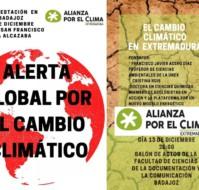 Manifestación y charla sobre cambio climático