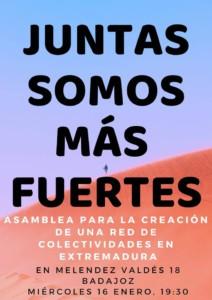 Asamblea/Encuentro de Colectivos de Badajoz @ Local 0,7