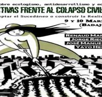 Badajoz: Jornadas Perspectivas frente al colapso civilizatorio