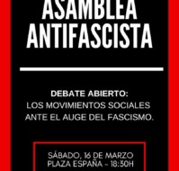 Asamblea Antifascista (Debate abierto)
