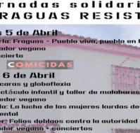 Jornadas solidarias Fraguas Resiste en Badajoz