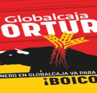 Campaña contra GlobalCaja  en Ciudad Real por patrocinar la tauromaquia.