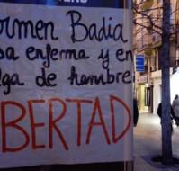 Solidaridad con Carmen Badía, en huelga de hambre desde el 11 de marzo.
