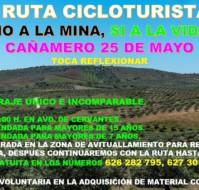 I Ruta Cicloturista No a la mina