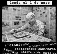 Nueva huelga de hambre colectiva en las prisiones españolas, del 1 al 15 de mayo.