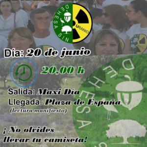 No a la Mina de Uranio @ Oliva de la Frontera