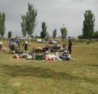 Han desalojado la acampada contra el macromatadero de Binéfar (Huesca)
