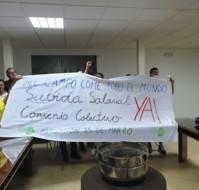 ¡¡Encierro en la sede de Asaja Extremadura por unas condiciones laborales justas en el campo Extremeño!!