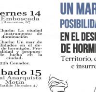 """[Jornadas] """"Un Mar de Posibilidades en el Desierto de Hormigón: Territorio, Ciudad e Insurrección"""" (14, 15, 16 junio, Madrid)"""