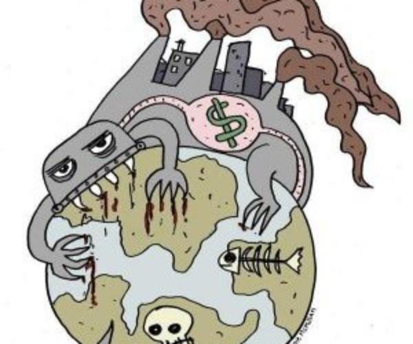 Crisis Climática? No! Crisis provocada por el capitalismo.