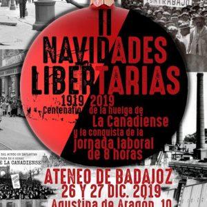 II Navidades Libertarias 2019 @ Ateneo de Badajoz
